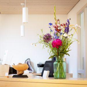 Bloemenabonnement kantoor Haarlem