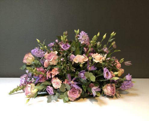 Rouwbloemen bestellen Haarlem paarstinten